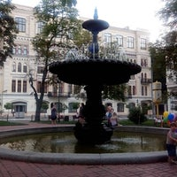 Снимок сделан в Площадь Ивана Франко пользователем Дмитрий Ш. 6/16/2013