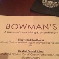 Photo taken at Bowman's Tavern by Jorge G. on 2/26/2016