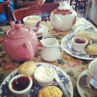 Photo taken at Tea & Sympathy by Sarah on 9/16/2012