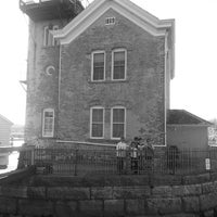 Photo taken at Saugerties Lighthouse by Michael B. on 10/13/2013