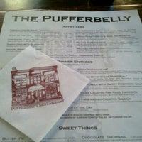 Photo taken at Pufferbelly Restaurant & Bar by Elliot on 10/11/2012