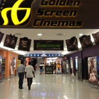 Photo taken at Golden Screen Cinemas (GSC) by Ignatius S. on 10/16/2012
