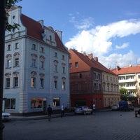 Photo taken at Rynek by Jarek W. on 5/8/2014