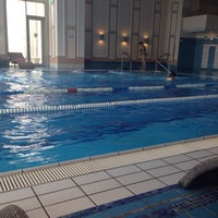 Photo taken at Pool @ World Class Health Academy Marriott by Bogdan C on 8/23/2014