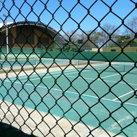Photo taken at Cancha De Tennis LC by Monica D. on 3/1/2014