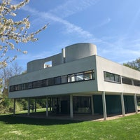 Photo taken at Villa Savoye by Brendan N. on 4/17/2018