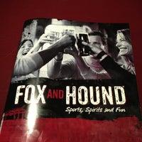 Photo taken at Fox & Hound by Karen H. on 2/10/2013