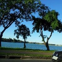 Photo taken at Lagoa da Pampulha by Rivane C. on 2/19/2013