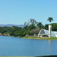 Photo taken at Lagoa da Pampulha by Rivane C. on 4/27/2013