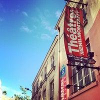 Photo taken at Théâtre de Ménilmontant by David on 5/11/2014