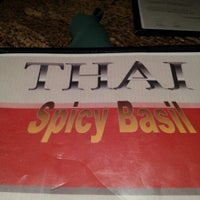 Photo taken at Thai Spicy Basil by Michelle Renee C. on 1/13/2013
