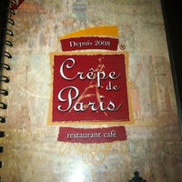 Photo taken at Crêpe de París by Mayra on 9/14/2012