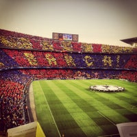 Photo taken at Camp Nou by Mario S. on 5/1/2013