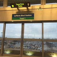 Photo taken at JFK AirTrain - Lefferts Boulevard by S D. on 4/15/2014