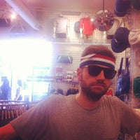 Photo taken at American Apparel by Adriaan P. on 10/7/2012