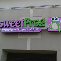 Photo taken at Sweet Frog by Charles L. on 10/5/2012