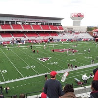Photo taken at Houchens Industries-L.T. Smith Stadium by Tony L. on 10/20/2012