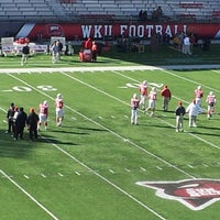 Photo taken at Houchens Industries-L.T. Smith Stadium by Tony L. on 11/24/2012