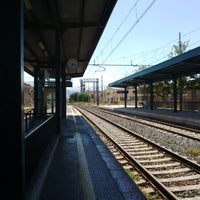 Photo taken at Stazione FS Bagheria by Luca M. on 7/30/2016