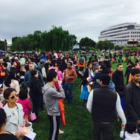 Photo taken at Leo J Ryan Memorial Park by Xiao M. on 4/16/2017