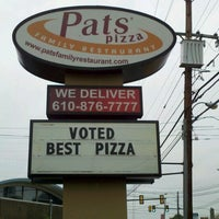 Photo taken at Pat's Pizza & Pasta by Justin P. on 10/15/2012