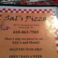 Photo taken at Sal's Pizza by Tammy N. on 7/29/2013