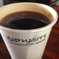 Photo taken at Bad Habits Café by B-Duff on 5/9/2014
