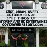 Photo taken at Cove Haven Entertainment Resorts by B-Duff on 10/19/2012