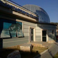 Photo taken at Planetaryum Ve Gozlem Evi by Okan K. on 10/28/2013
