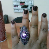Photo taken at Super Nails by Rosalyn B. on 10/26/2012