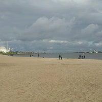 Photo taken at Elbstrand Bassenfleth by kungler on 9/15/2013