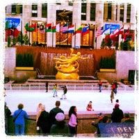 10/16/2012にDarold C.がThe Rink at Rockefeller Centerで撮った写真