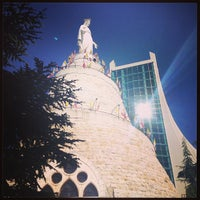 Photo taken at Notre Dame du Liban Harissa by Sal Eljach K. on 6/1/2013