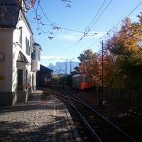 Photo taken at Die Rittner Schmalspurbahn / Il trenino del Renon by Alessandro on 10/21/2012