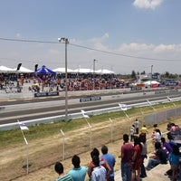 Photo taken at Autodromo Toluquilla by Ignacio L. on 6/9/2013
