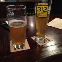 Photo taken at Goose Island Brewpub by Shane on 4/7/2013
