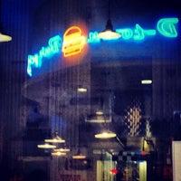 Photo taken at D-Town Burger Bar by Benjamin G. on 6/28/2013