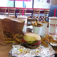 Photo taken at Five Guys by Amy on 6/22/2013