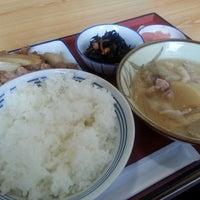 Photo taken at 厚木恩名食堂 by Mieko T. on 11/8/2014