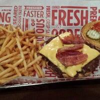 Photo taken at Smashburger by TJ H. on 4/6/2014