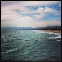 Photo taken at Rusty's Surf Ranch by Jon S. on 5/10/2013