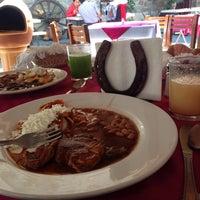 Photo taken at La Casona de Tlaxcala by Daphne O. on 2/22/2015