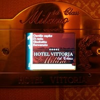 Photo taken at Hotel Vittoria by Elisabetta D. on 5/13/2014