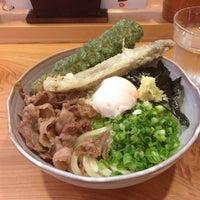 Photo taken at 男うどん 能勢 by Watari K. on 7/11/2013