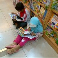 Photo taken at Gramedia by Yanurmal on 11/4/2012