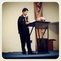 Photo taken at GBT Kristus Raja Damai by Isaac Y. on 8/3/2014