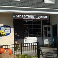 Photo taken at SideStreet Diner by Jacqueline D. on 10/17/2012