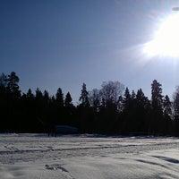 """Photo taken at Стадион """"Биолог"""" by Koško K. on 2/23/2013"""