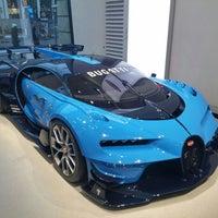 Photo taken at Bugatti | Automobil Forum Unter den Linden by Engin K. on 1/1/2016