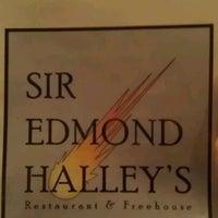 Photo taken at Sir Edmund Halley's by Fergus H. on 1/17/2013